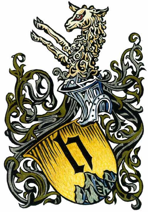 Huber Wappen 1467 Basel